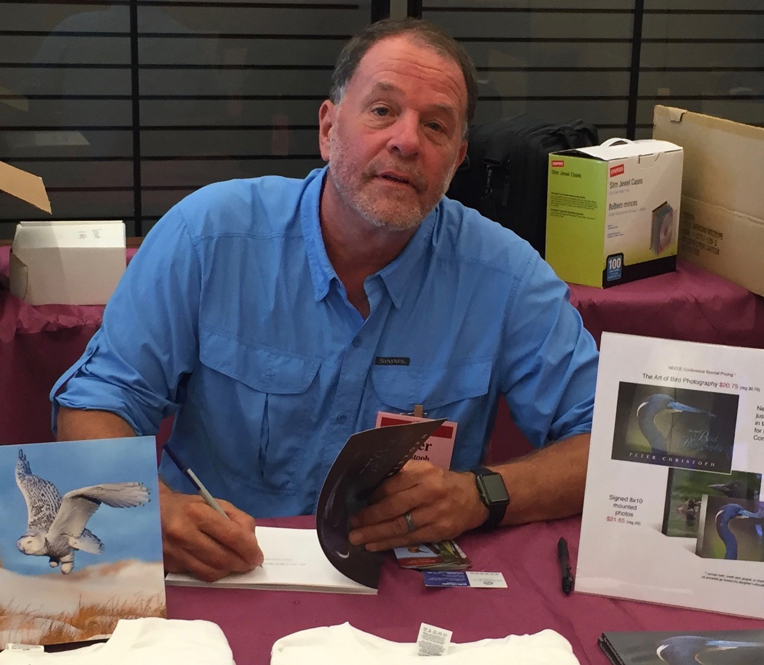 peter book signing